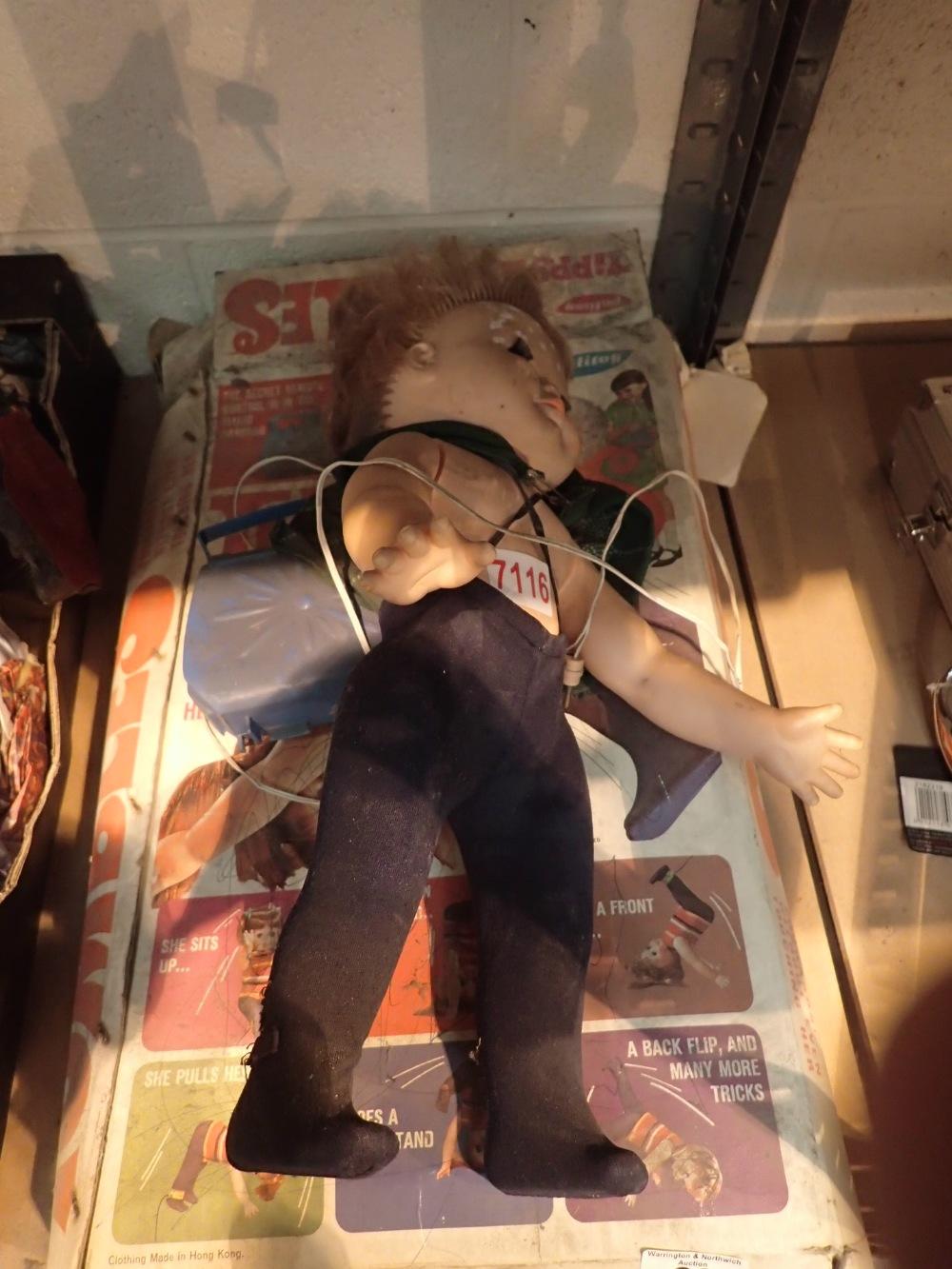 Lot 29 - Palitoy Tippy doll ( She Tumbles )