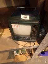 Lot 36 - Vintage mini TV / radio screen ( will require digi box ) CONDITION REPORT: The