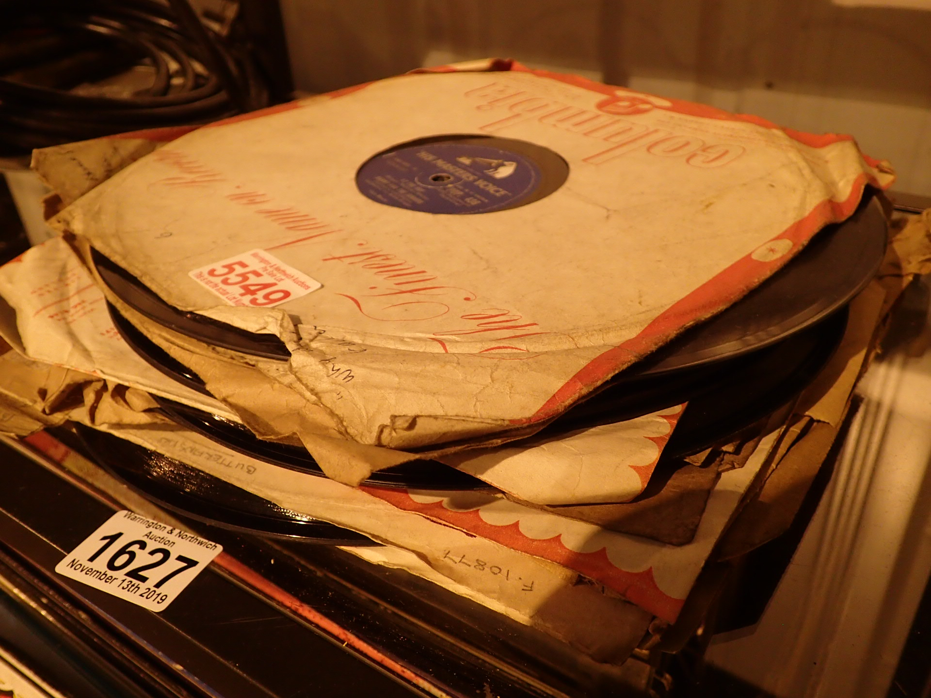 Lot 1627 - Mixed 78s including Lonnie Donegan and T