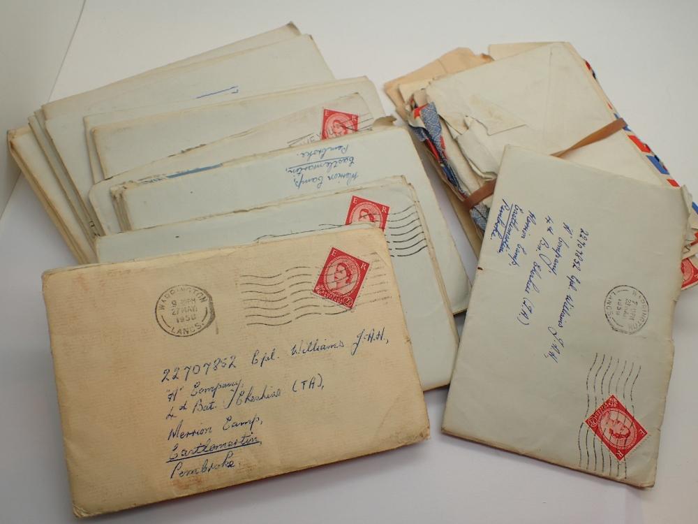 Lot 1456 - Quantity of correspondence between a cor
