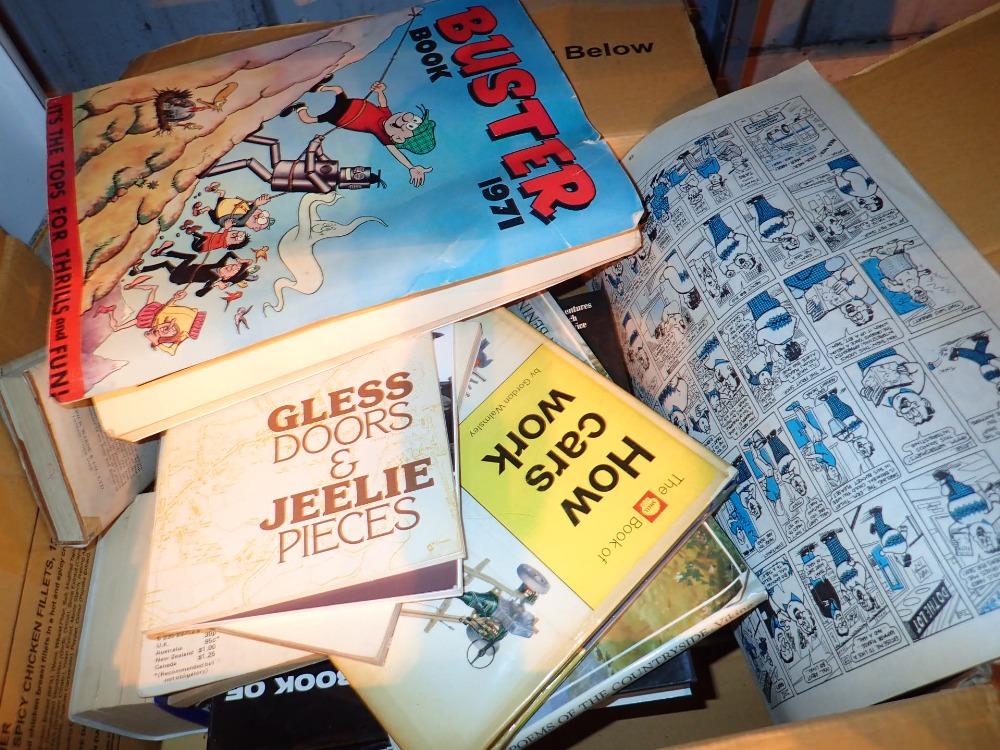 Lot 266 - Box of mixed books