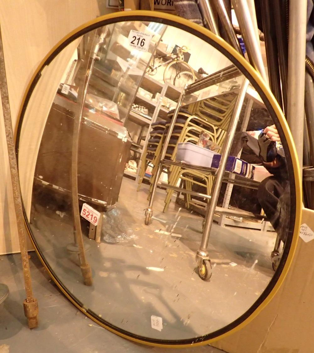 Lot 216 - Convex security mirror D: 56 cm