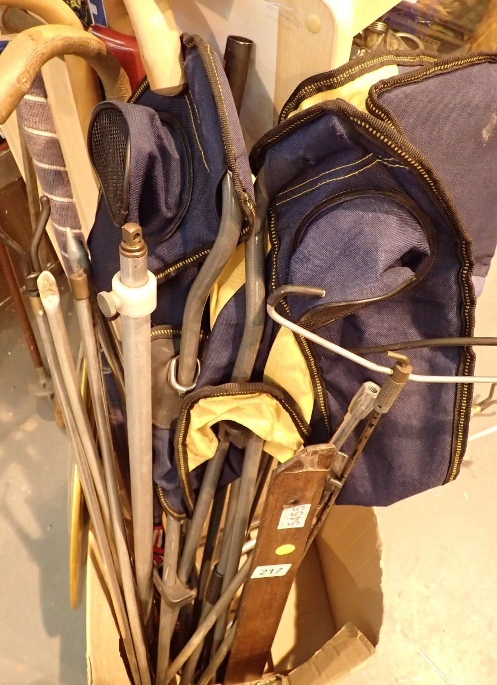 Lot 217 - Collection of sporting equipment includi