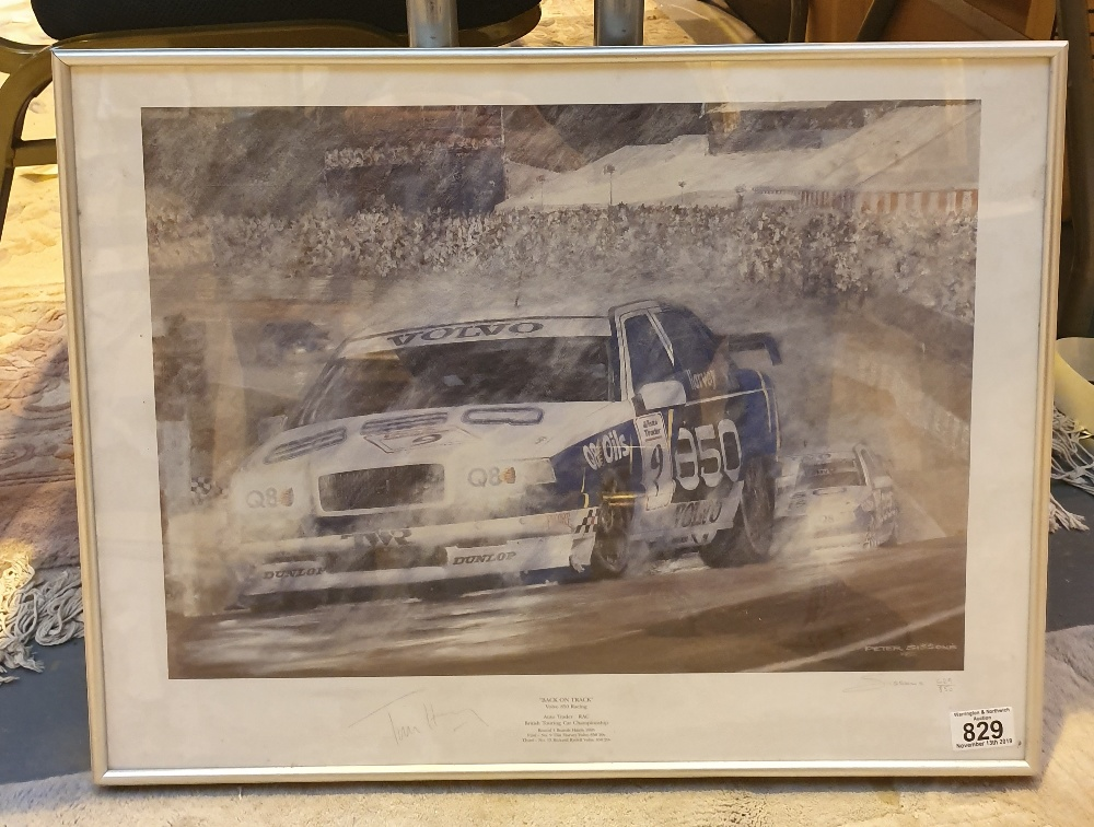 Lot 829 - Limited edition 625/850 Bank on Track Vo