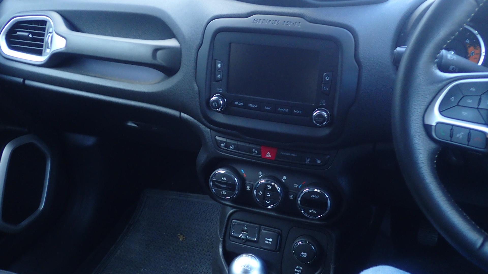 Lot 1200 - Jeep Renegade diesel hatchback 2.