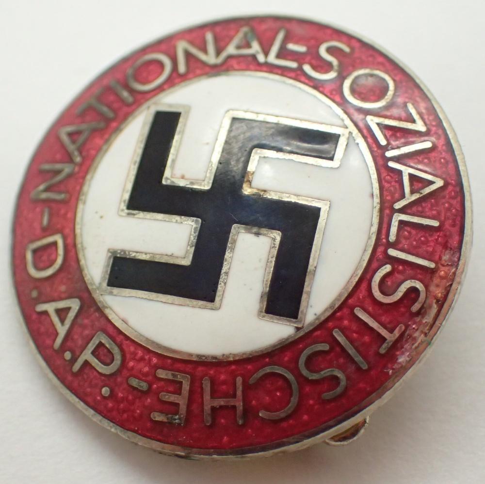 Lot 1240 - German enamel badge
