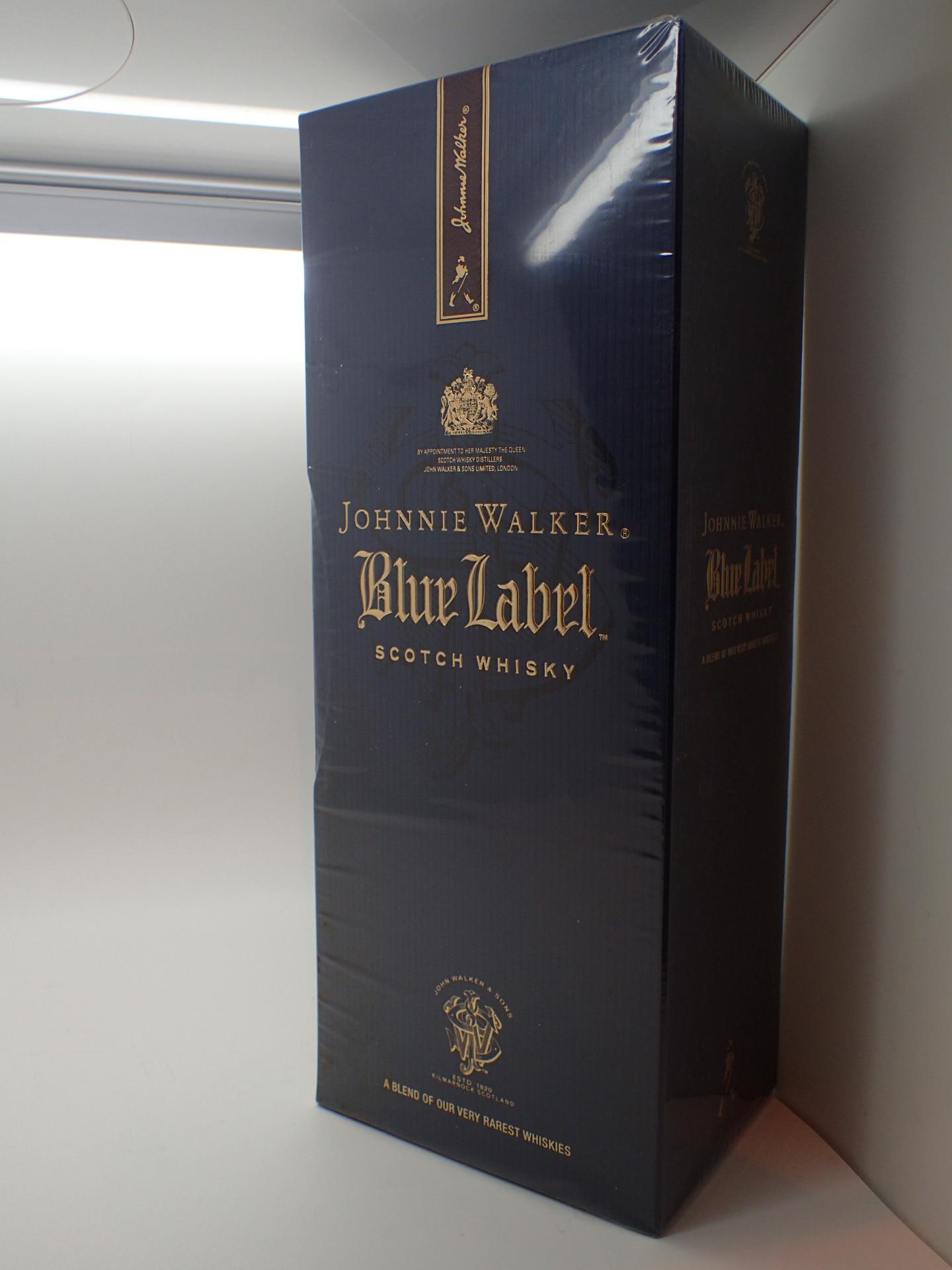 Lot 506 - Johnnie Walker Blue Label scotch whisky
