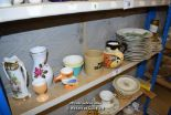 Lot 39 - *SHELF OF PORCELAIN WARE AND COLLECTABLES