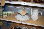 Lot 23 - *SHELF OF PORCELAIN WARE AND COLLECTABLES