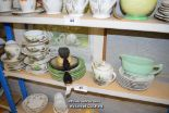 Lot 45 - *SHELF OF PORCELAIN WARE AND COLLECTABLES