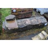 Lot 44 - LARGE STONE SILL