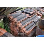 Lot 23 - PALLET CONTAINING A LARGE QUANTITY OF DOUBLE PAN ROOF TILES