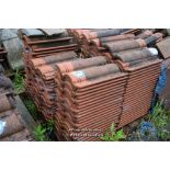 Lot 26 - PALLET CONTAINING A LARGE QUANTITY OF DOUBLE PAN ROOF TILES