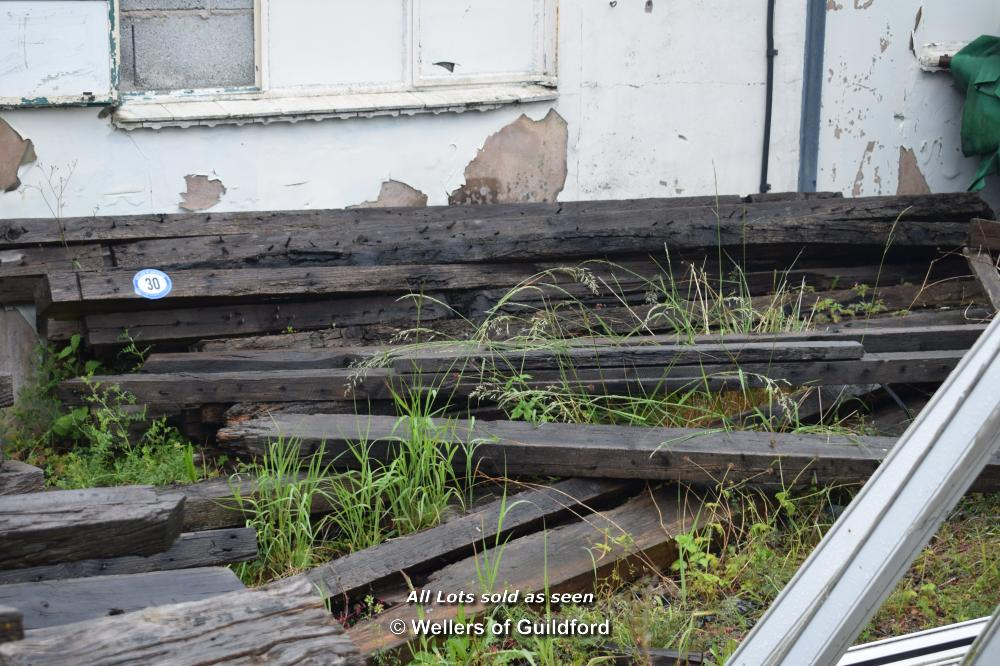Lot 30 - QUANTITY OF RECLAIMED RAFTERS