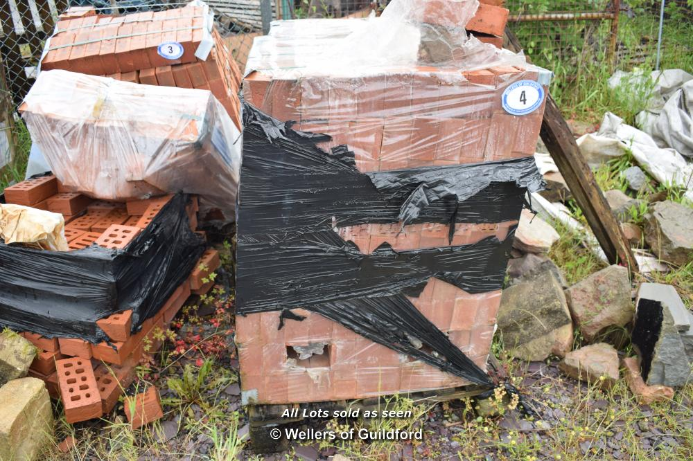 Lot 4 - FULL PALLET CONTAINING IBSTOCK AUTUMN ANTIQUE ENGINEERING BRICKS
