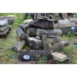 Lot 50 - PALLET CONTAINING STONE BALUSTRADE SECTIONS