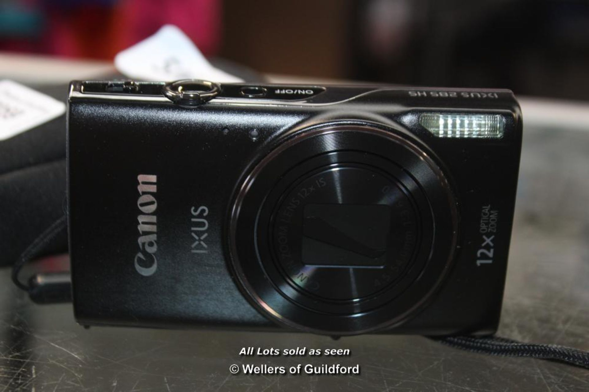 Lot 7059 - *CANON IXUS 285 HS CAMERA WITH CASE [506-23/09]