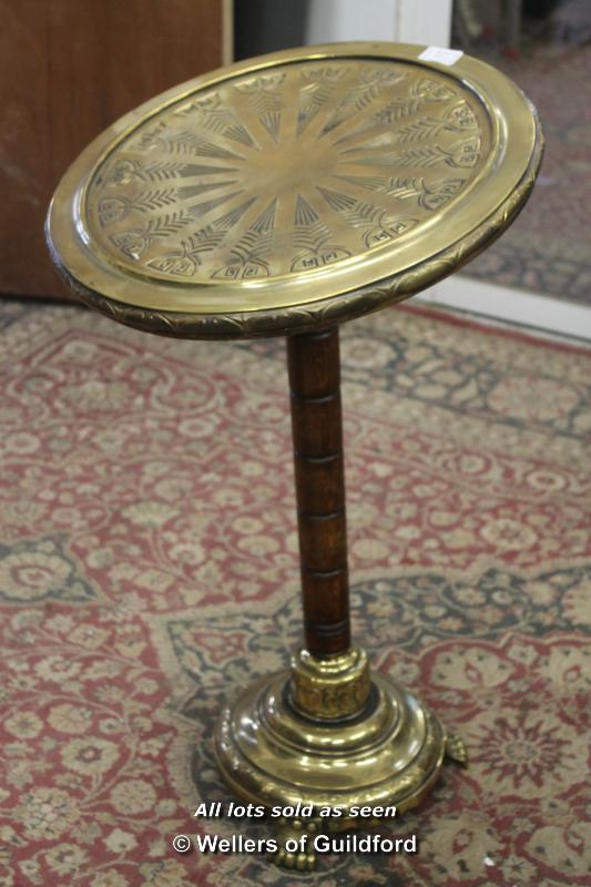 Lot 7501 - *Sessionist brass Art Nouveu Jugendstil Viennese side table (Lot subject to VAT)