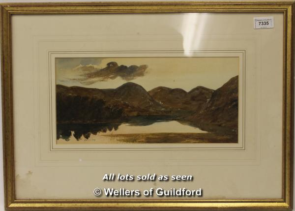 Lot 7335 - Framed landscape signed JN Singleton