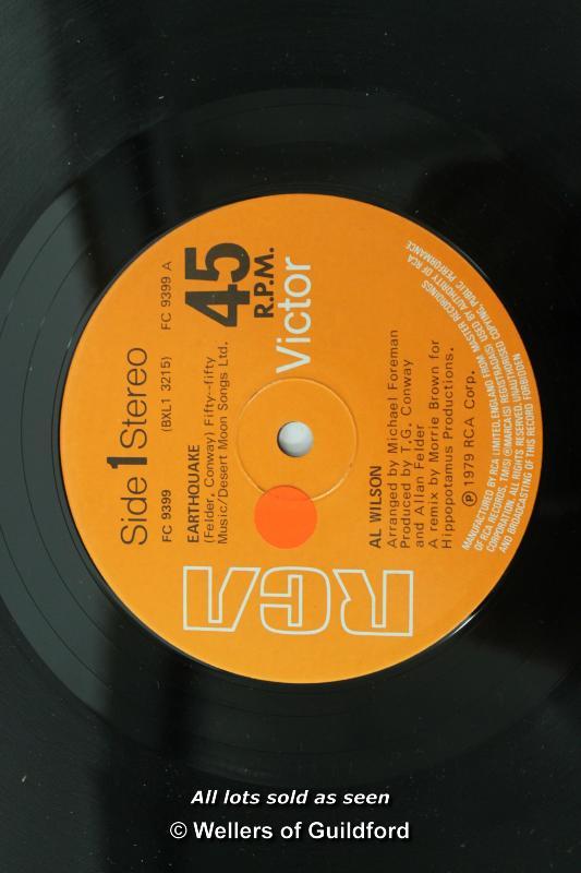 "Lot 7394 - *Al Wilson: 'Earthquake' 12"" vinyl (Lot subject to VAT ) LQD94"