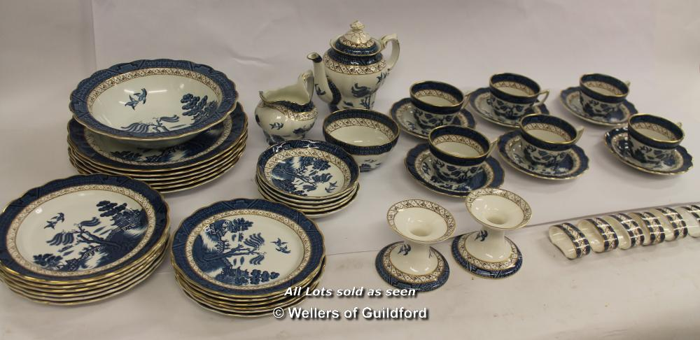 Lot 7550 - *A Part Dinner Service By Real Old Willow (Lpgba165536253)(Lot Subject To VAT)