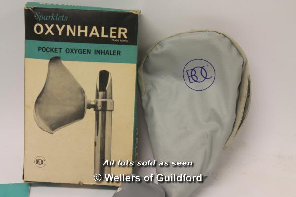 Lot 7505 - *Sparklets vintage pocket inhaler with original box and manual (Lot subject to VAT) (LQD98)