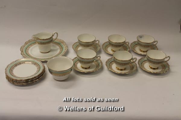 Lot 7251 - Ashley fine bone china with 22kt gold inlay, part tea service (21)