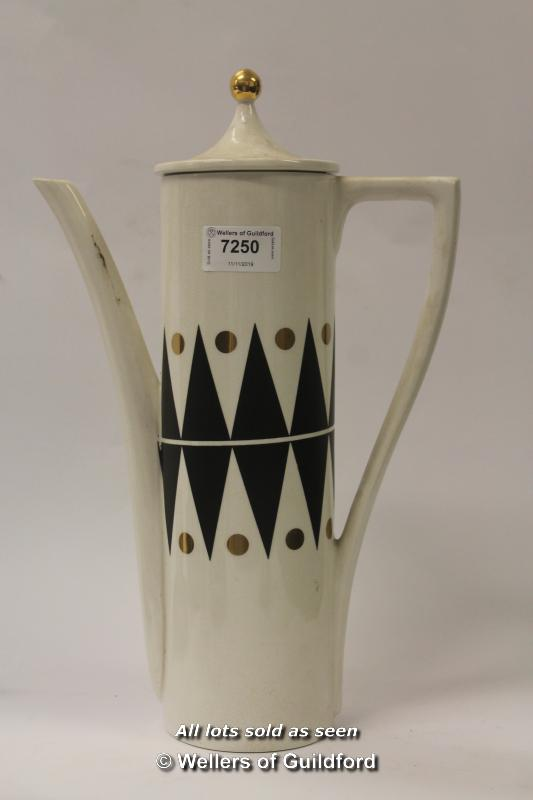 Lot 7250 - A fifteen piece Portmeirion coffee set designed by Susan Williams-Ellis