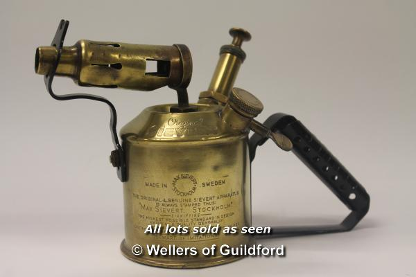 Lot 7439 - *Vintage Sievert 504 blow torch (Lot subject to VAT) (LQD98)