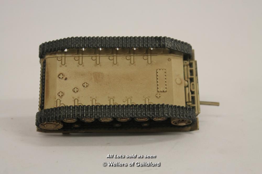 Lot 7610 - *28mm WW2 German Panzer Iv Painted Bolt Action- (Lot Subject To VAT) [LQD100]