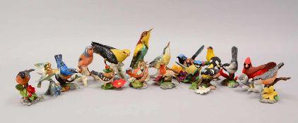 Franklin Mint und Goebel, große Porzellanfiguren-Sammlung/teilweise Biskuitporzellan, verschiedene
