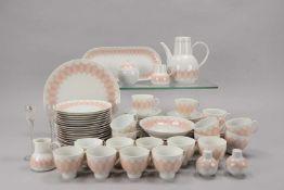 Rosenthal/Studio Line, Kaffeeservice, Form 'Lotus', Entwurf: Björn Wiinblad, für 18 Personen,