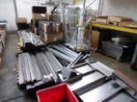 Lot 753 - Large quantity of metal stocks and work in progress intended to be used in the manufacturing of