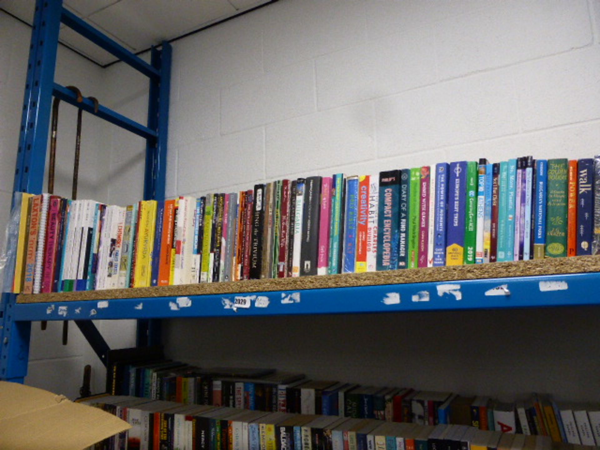 Lot 2029 - Shelf of various reference and study material books