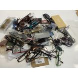 Lot 2025 - bag of mixed loose sunglasses and reading glasses, various brands etc.