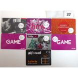 Lot 37 - Game (x7) - Total face value £95