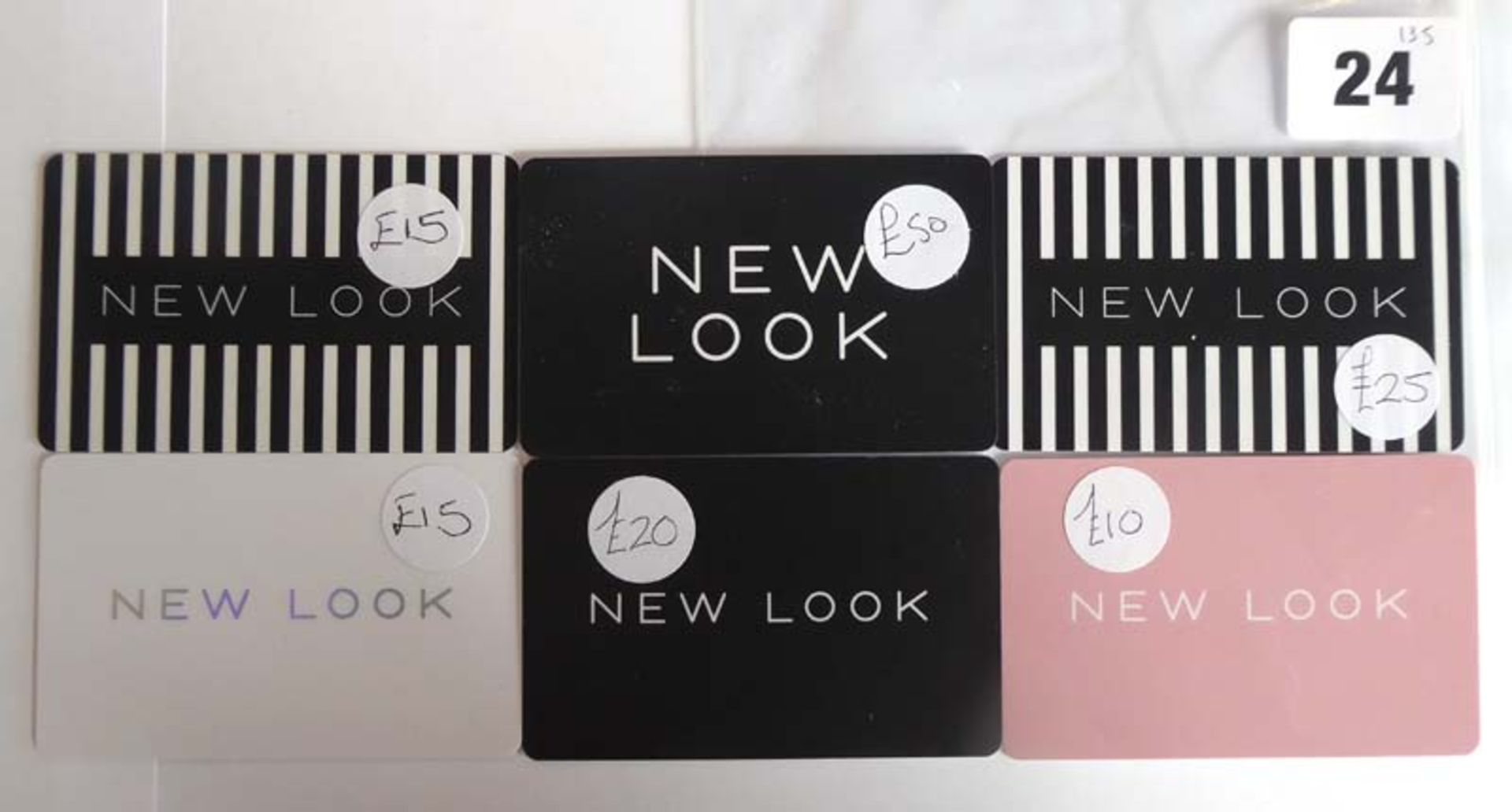 Lot 24 - New Look (x6) - Total face value £135