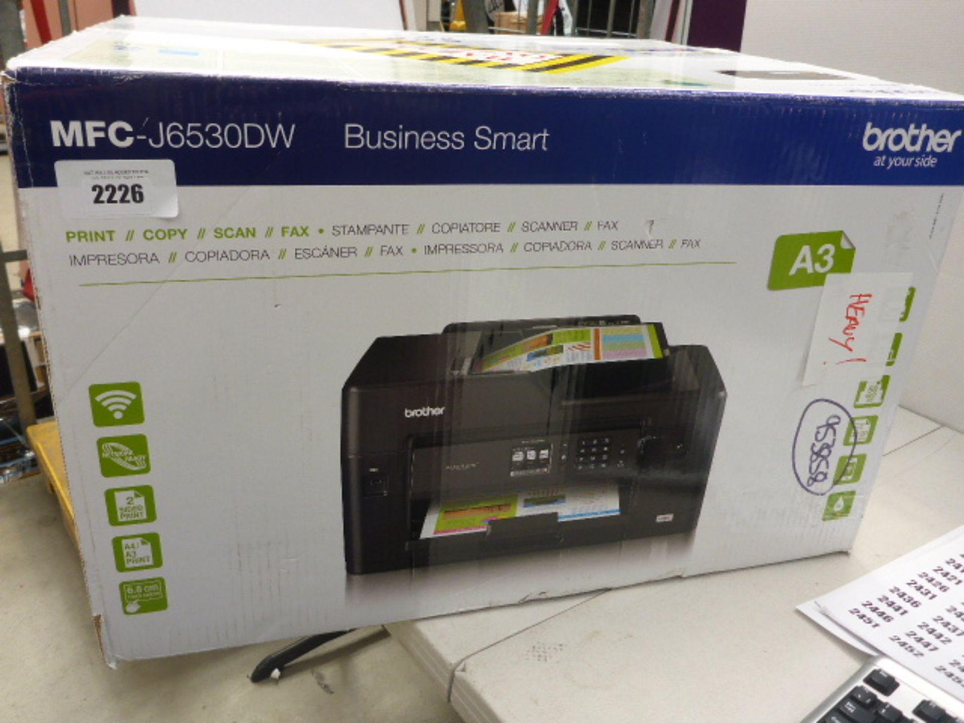 Lotto 2226 - Brother MFC J6530 smart printer in box