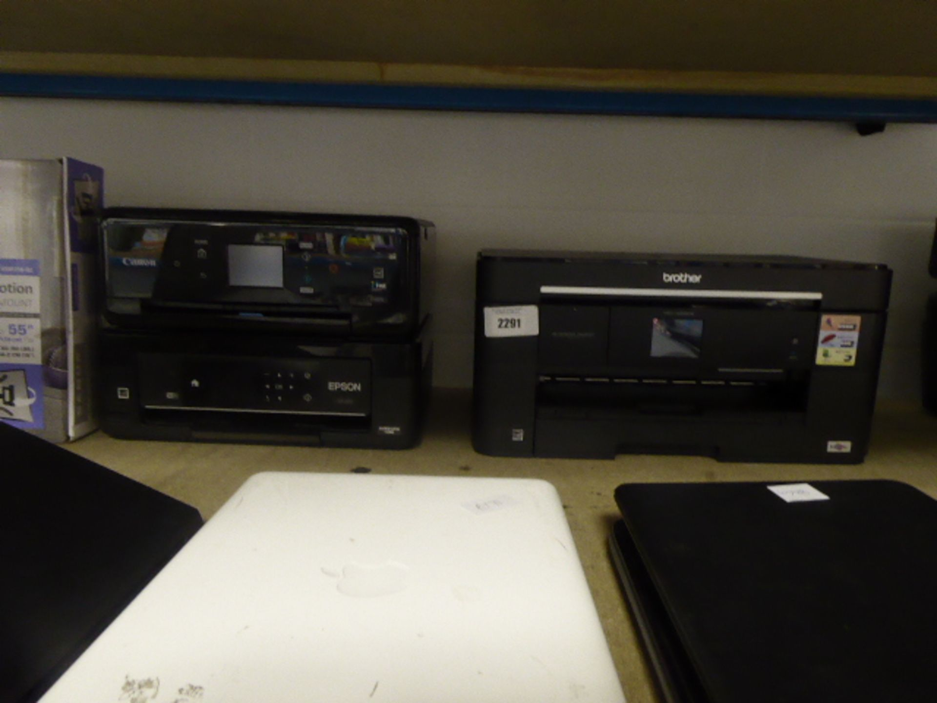 Lotto 2291 - 3 various printers to incl. Epson, Canon and Brother