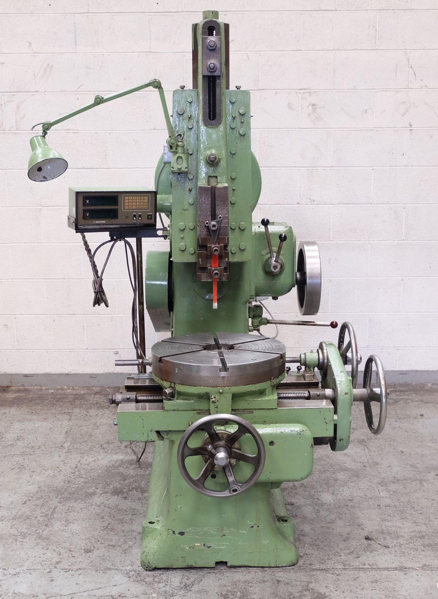 Lot 45 - An Ormerod Toolroom Slotting Machine, Max Stroke 8