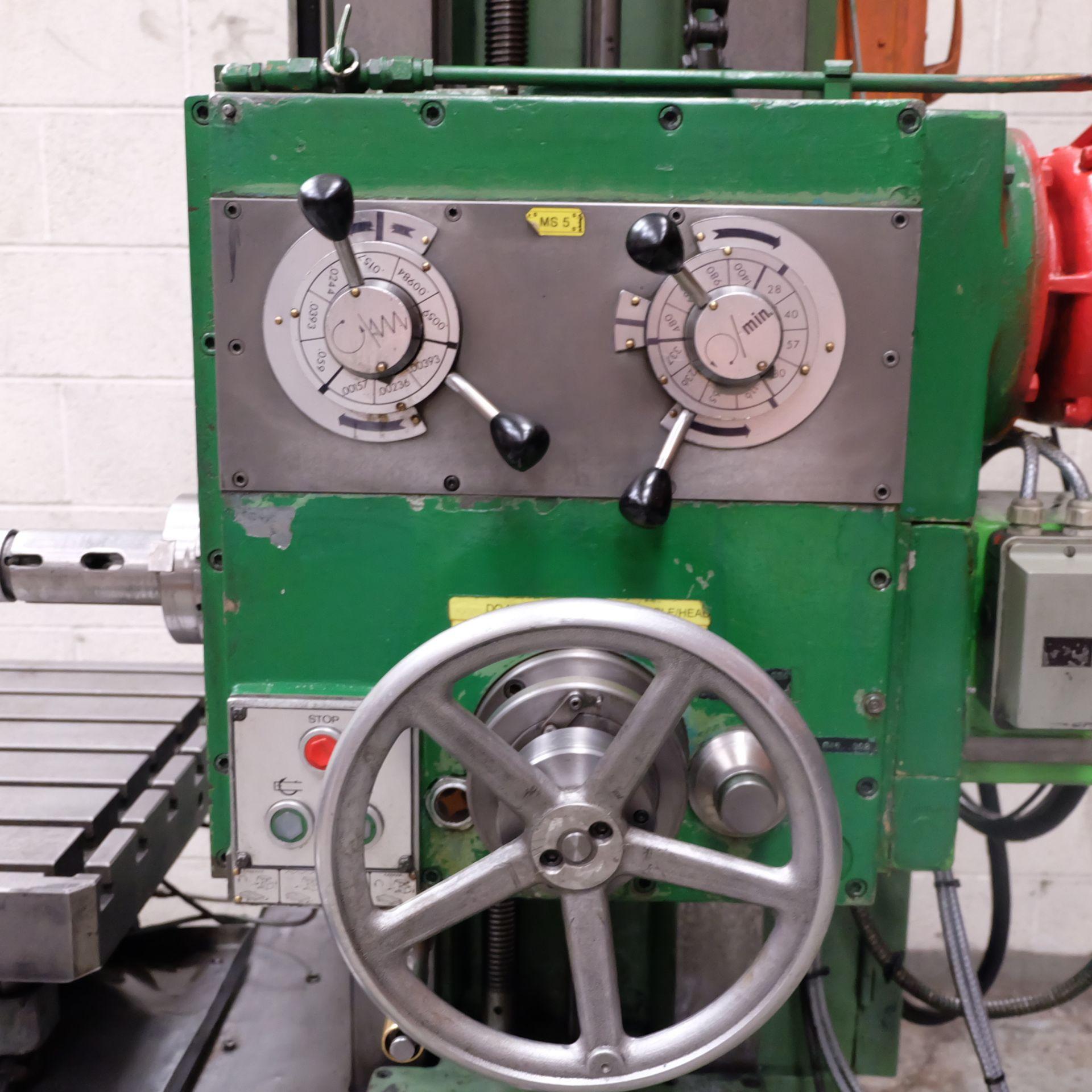 Lot 34 - A JUARISTI Horizontal Boring Machine, Rotating Tab