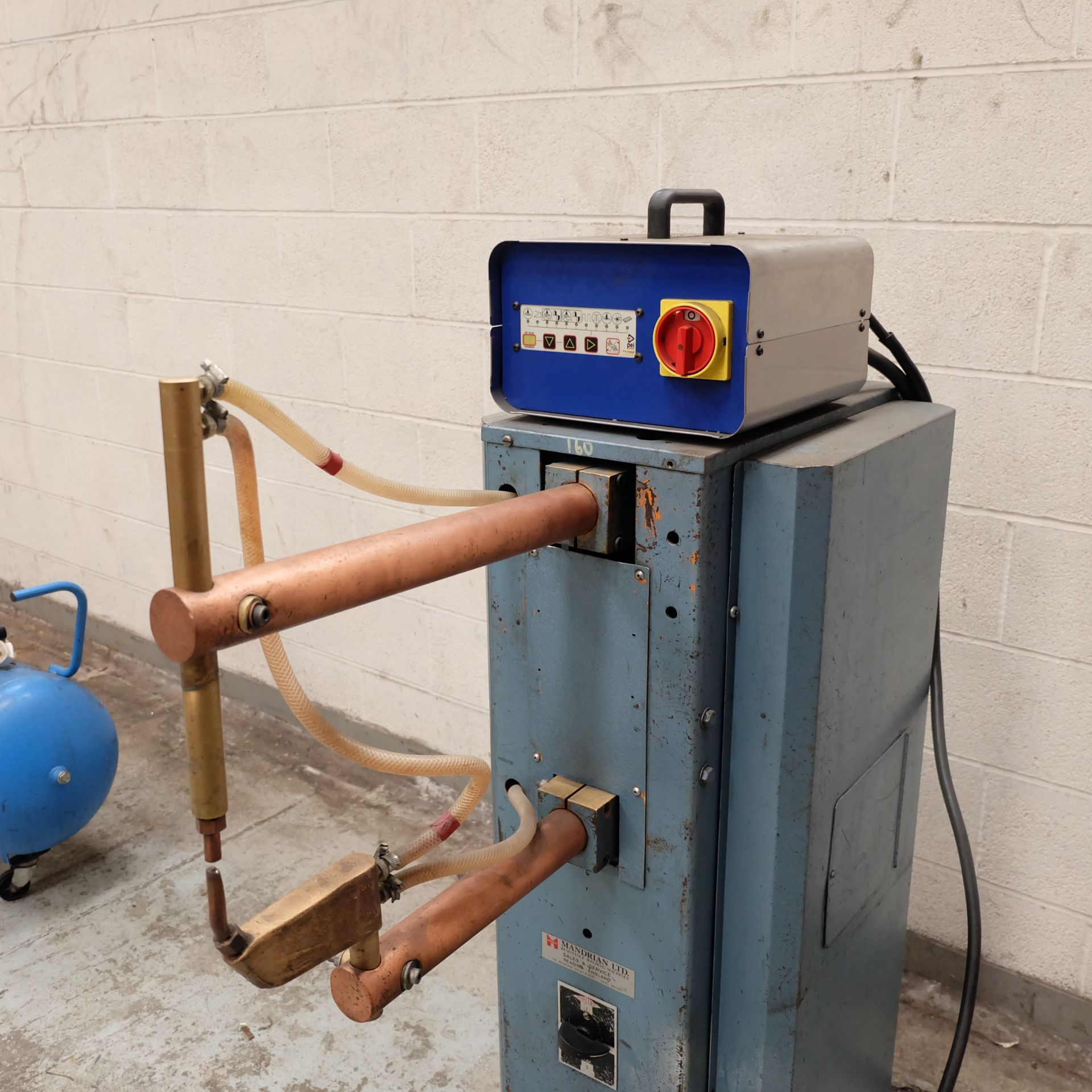 Lot 38 - A Mandrian Type RPS/15A Spot Welding Machine, 15kV
