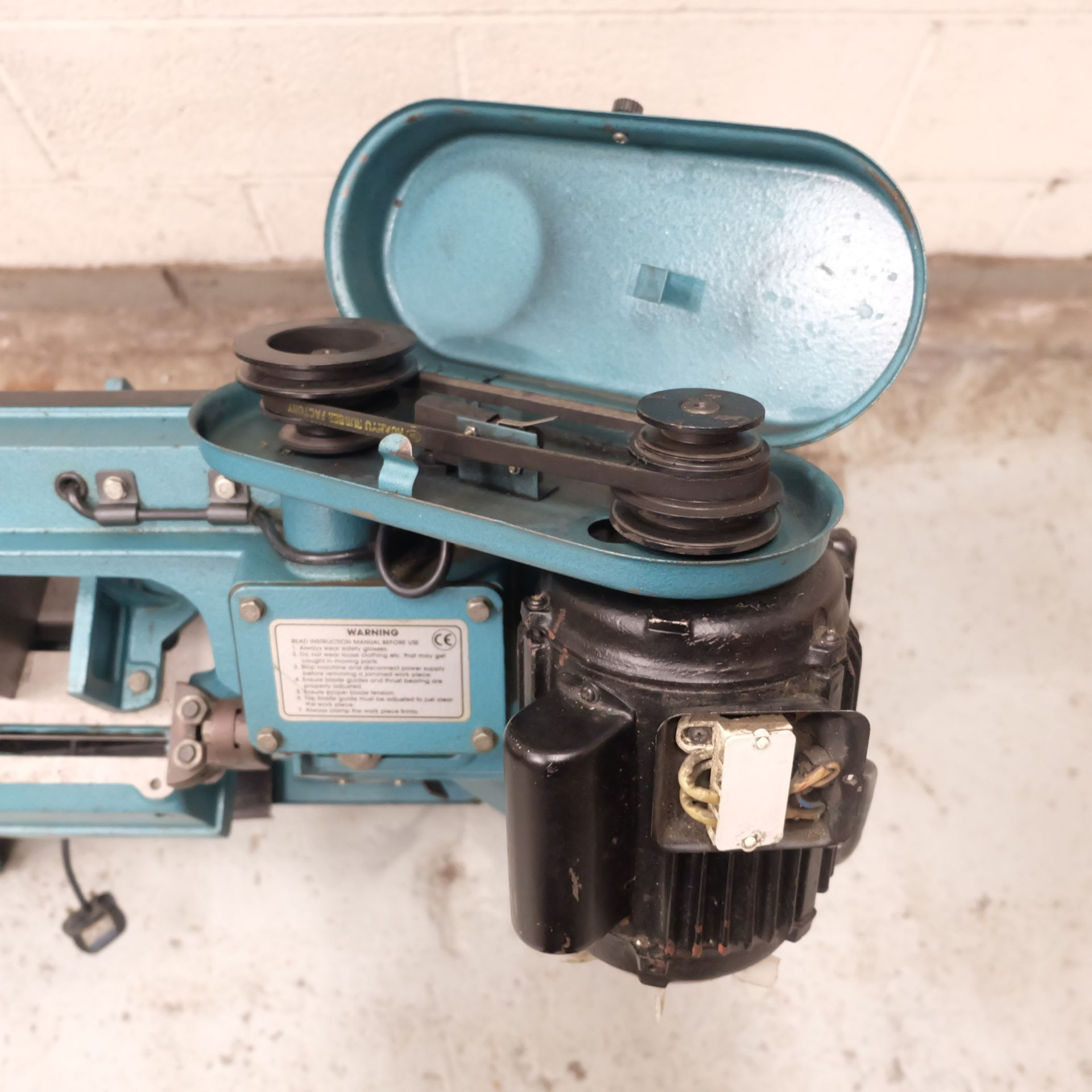 Lot 26 - A Clarke Horizontal Bandsaw 4 1/2in Capacity, Sing