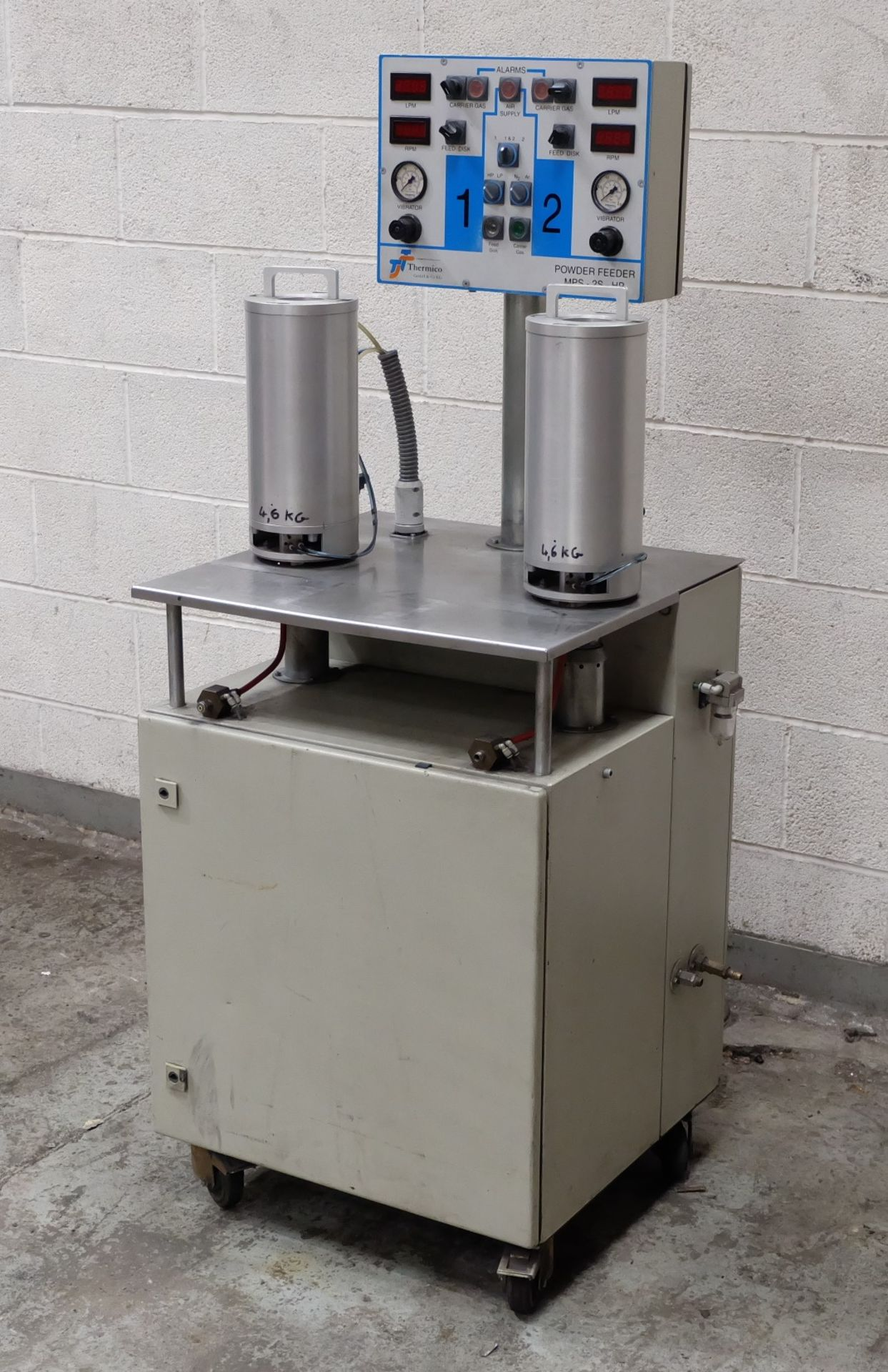 Lot 43 - A Thermico Type MPS-25-HP Powder Feeder.