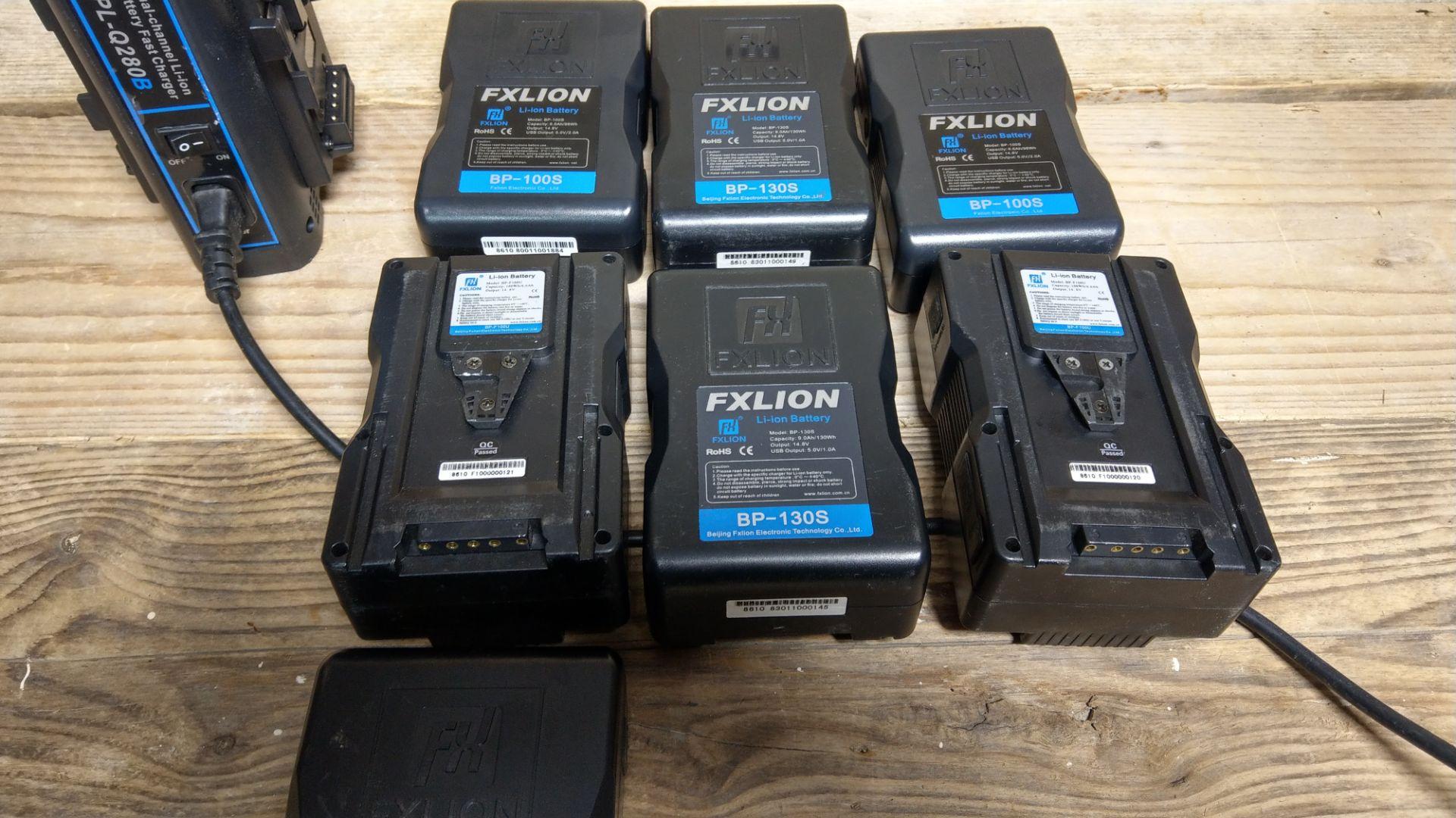 Lot 67 - FxLion 14.8V V-Lock Battery Kit