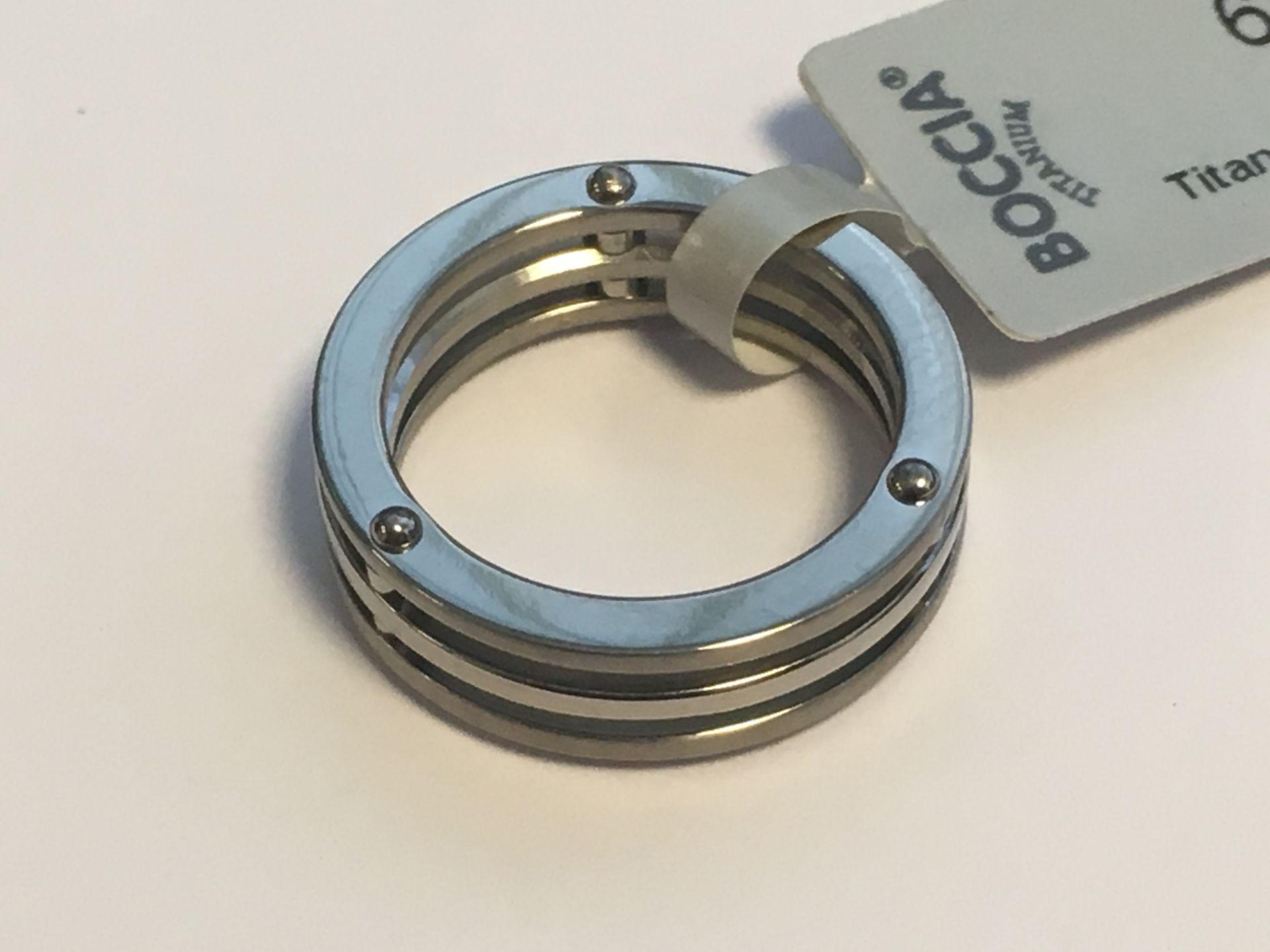 Lot 51 - Boccia Titanium Mens Ring
