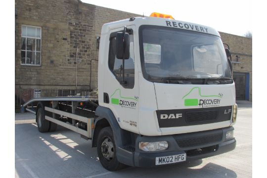 DAF LF45 7 5 Tonne Roger Dyson Car Transporter / Recovery Vehicle