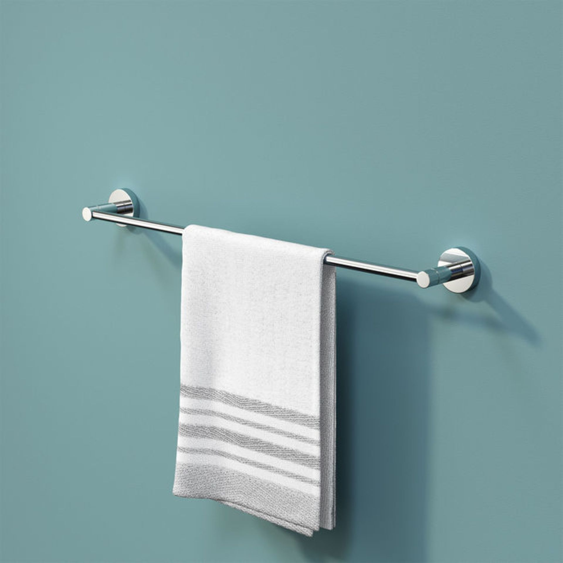 Lot 48 - (NF116) Finsbury Towel Rail. Designed to conceal all fittings Completes your bathroom with a