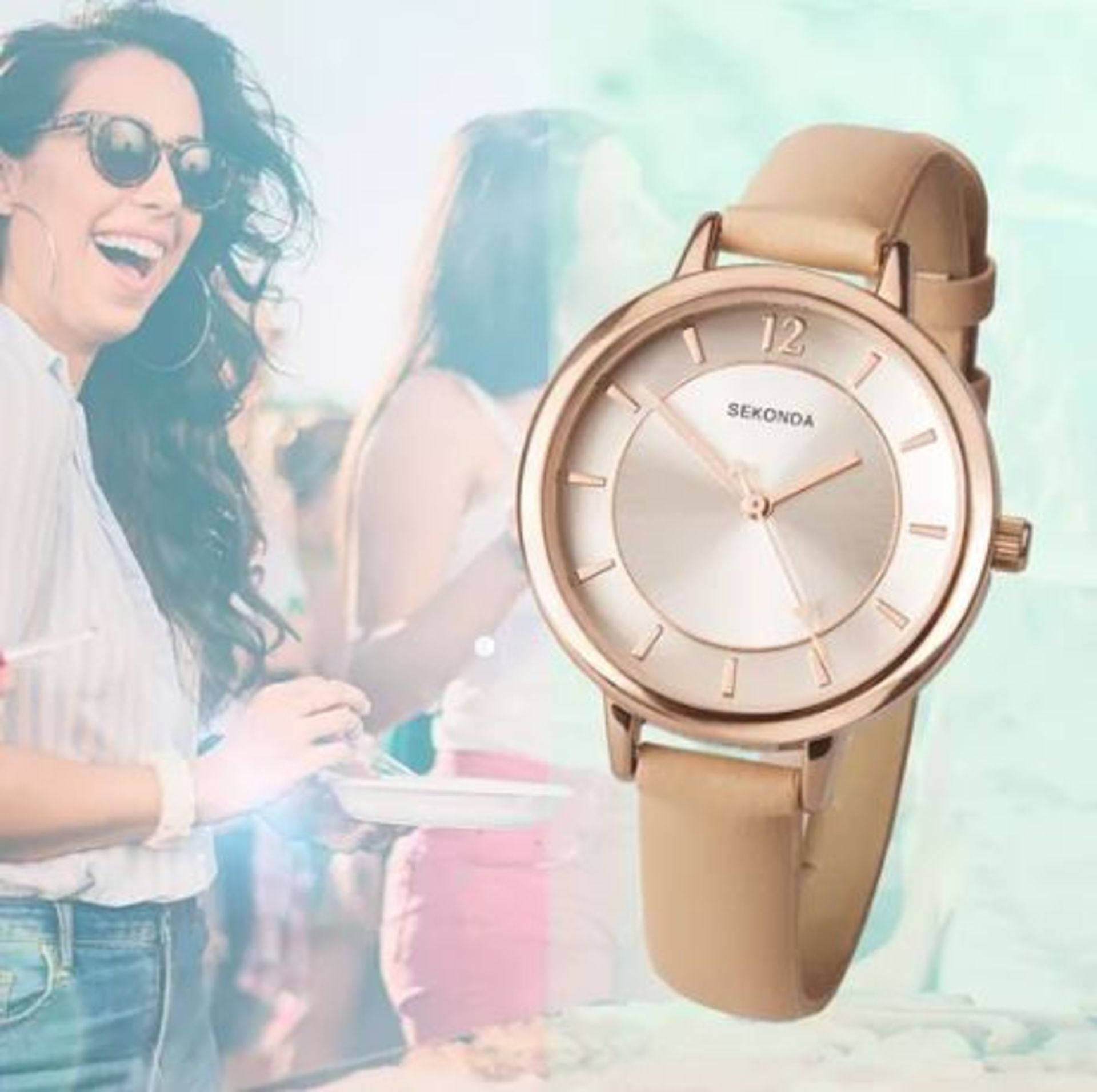 Lot 25 - Brand New Sekonda Women's Quartz Watch with Analogue Display 2137.28