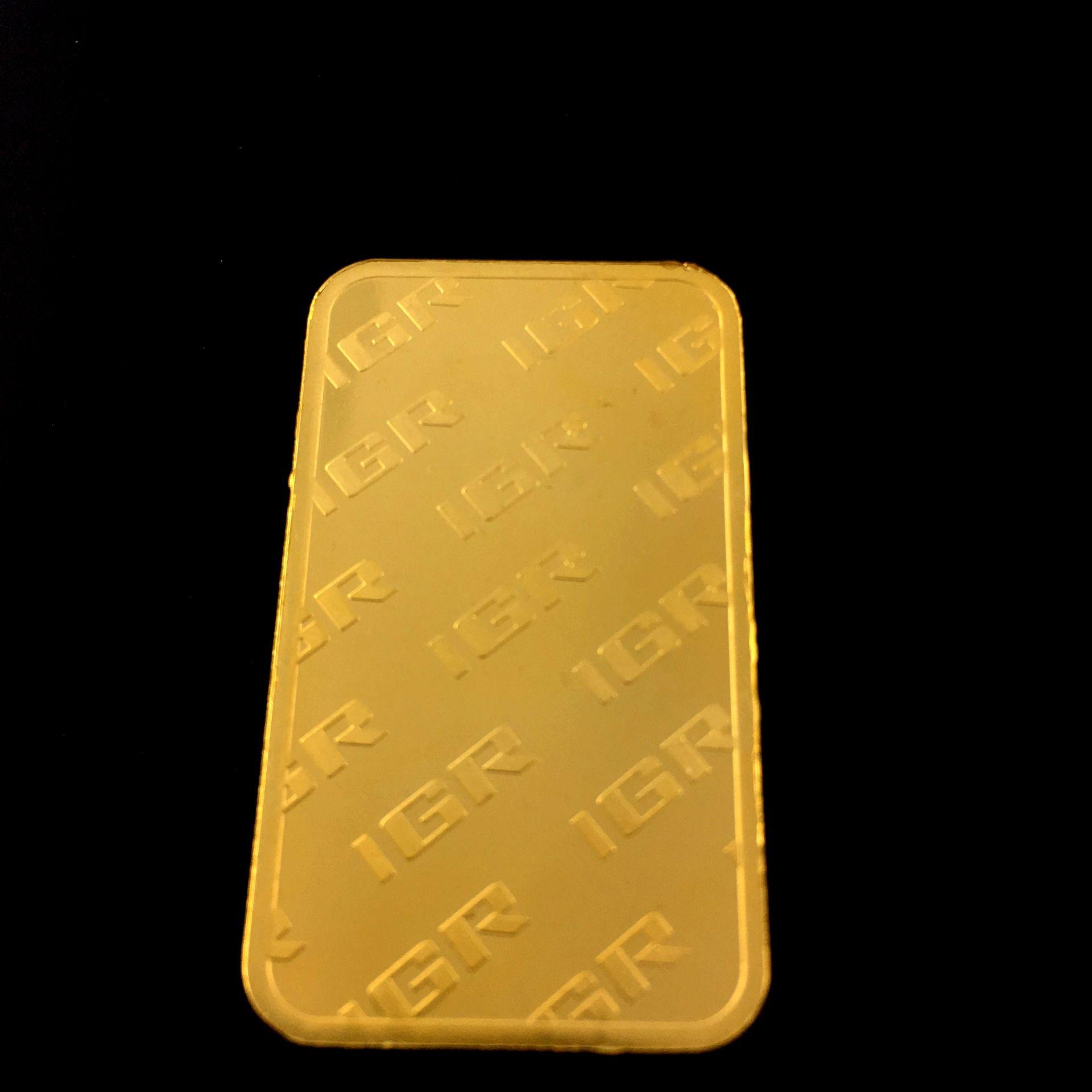 Lot 52 - 50 Gram 99.99% (24K) Gold Bullion